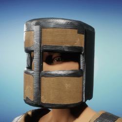 Cardboard helm female