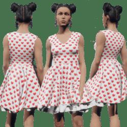 Valentine Dress f