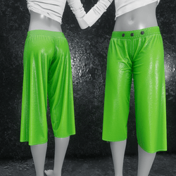 Culottes Leather green
