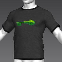 Ready Player One: Jade Key T-Shirt (Grey) (M)