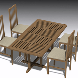 Dining table set 012