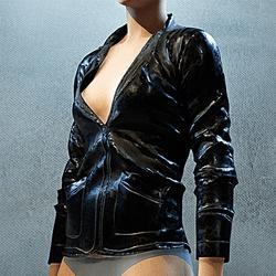 Rubber Jacket Black