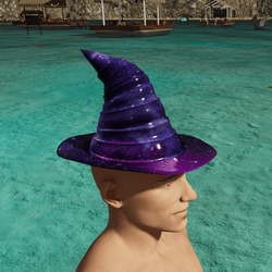 Galaxy Wizard Hat
