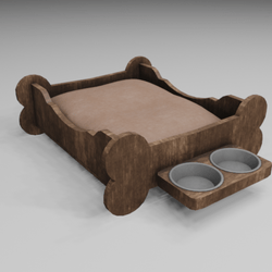 Dog's Bed V009