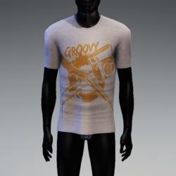 Groovy Horror T-Shirt White