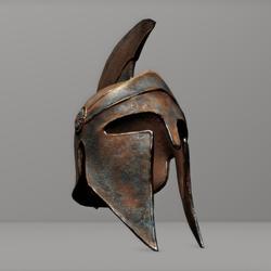 Corinthian Helmet prop