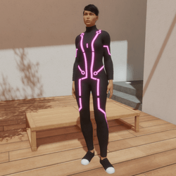 App Costume Hot Pink Edition (female version)
