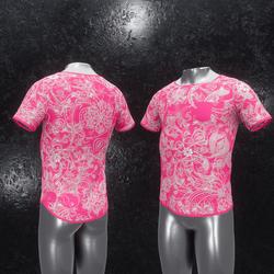 Shirt Ornament pink
