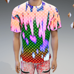 Club-Lights GLOW-Animated T-Shirt - Male