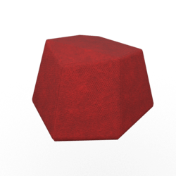Geo Poof Red 1