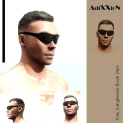 Frey Sunglasses Black Dark