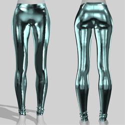 Leggings Maddy Metal Light Blue