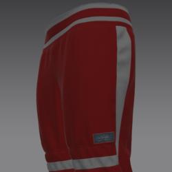 Arr pants red