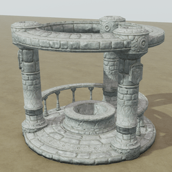 Gazebo | Stone Well