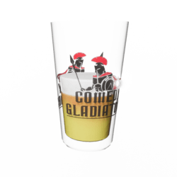 Comedy Gladiators - Beer Glass - Male