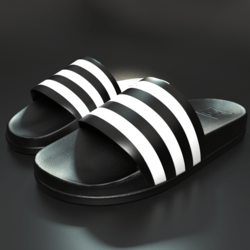 Sliders shoes White Stripes male