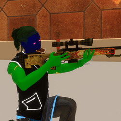 Shooting Pose