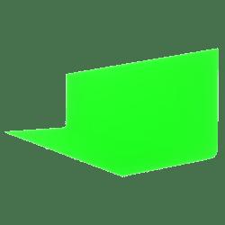 Backdrop Green 3x1 Full Bright