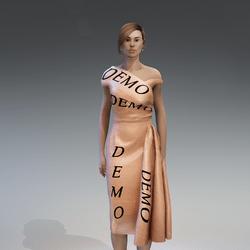 AV 2.0   Vintage elegant dress - demo