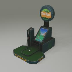 Game Machine Golf