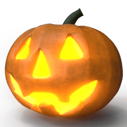 Jack-O-Lantern w/ Glow (Happy) [Dynamic]