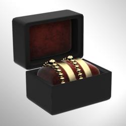 Gold Bracelet Set Left [FEMALE]