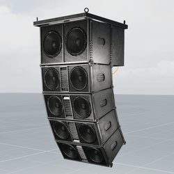 Speaker Line Array For Clubs