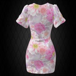 Petal Sleeve Dress #3