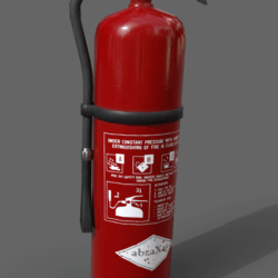 wall extinguisher