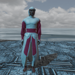 Cloth modeling of Assassin's