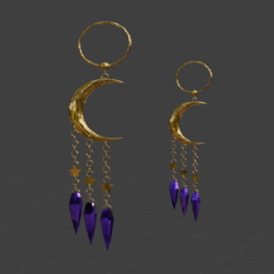 Galaxy Gypsy Earrings