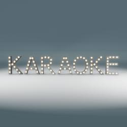 Karaoke Marquee Blinking Sign
