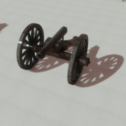 Furniture - pounder cannon