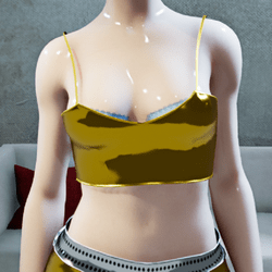 Female Cosmos Gold-Top