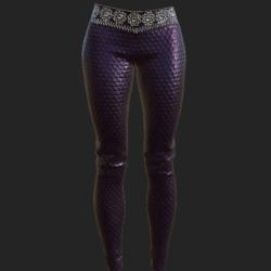 Ucci pants violet