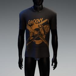 Groovy Horror T-Shirt Black