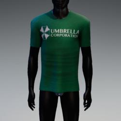 Umbrella Corporation T-Shirt Kelly Green