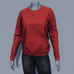 Women Sweater - Red