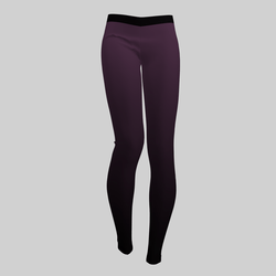 Leggings Maddy Gradient Purple 2.0