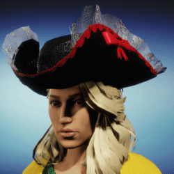 Female Pirate Hat R3d