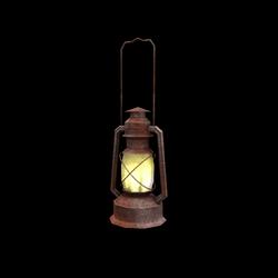 Ranch Oil Lamp