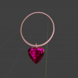 Heart Of The Rose Necklace