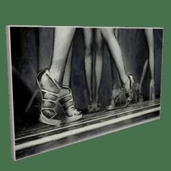 Women Legs Painting