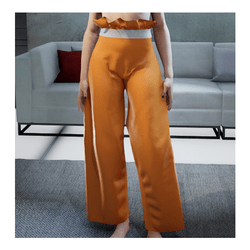 Loose Pants Orange