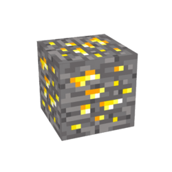 SanCrafter Base Block - Gold Ore