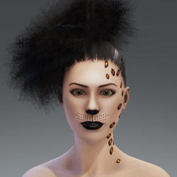 Skin Makeup Feline female