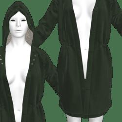 Unisex Long Winter Jacket