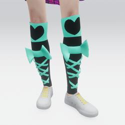 Emo Anime Stockings 04