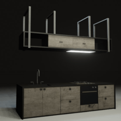 Kitchen In The Night