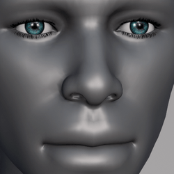 Men Eyes - Aqua